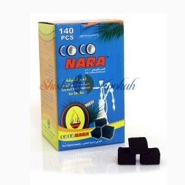 Coconara Coconut Charcoal 140 Pieces