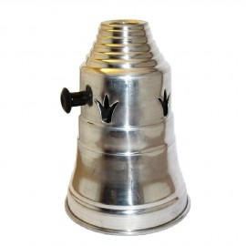 Egyptian Silver Shisha Wind Cover 14cm A364