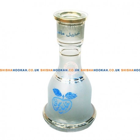 KM Blue Apple Vase